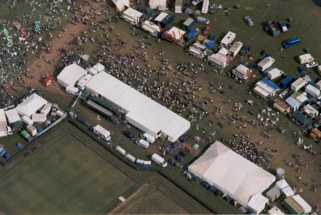 Aerial View of Guilfest
